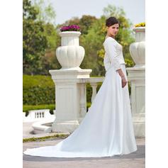 wedding dresses for short fat ladies