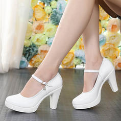 Women's Ballroom Character Shoes Heels Real Leather Dance Shoes