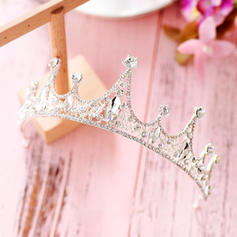 "Tiaras Wedding/Special Occasion/Party Crystal/Rhinestone/Alloy 1.89""(Approx.4.8cm) 4.72""(Approx.12cm) Headpieces"