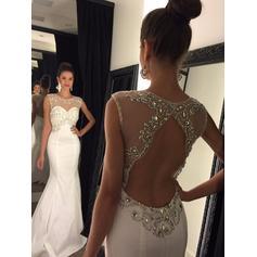 madre de oro de vestidos de noche de novia
