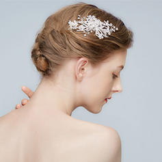 "Combs & Barrettes Wedding/Special Occasion/Art photography Alloy 5.53""(Approx.14cm) 2.37""(Approx.6cm) Headpieces"