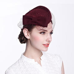 With Tulle Beret Hat Beautiful Ladies' Hats