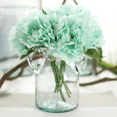 """Bridal Bouquets/Bridesmaid Bouquets/Wedding Table Flowers Hand-tied Wedding/Party/Casual Artificial Silk 7.87""""(Approx.20cm) Wedding Flowers"""