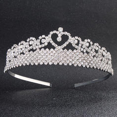 "Tiaras Wedding/Special Occasion Alloy 5.12""(Approx.13cm) 1.57""(Approx.4cm) Headpieces"
