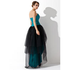silk long prom dresses