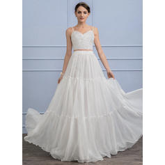satin wedding dresses for bride 2018