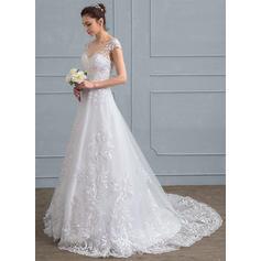 une épaule robes de mariée
