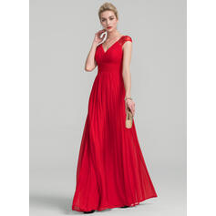 iltapuvut pitkä punainen prom mekko