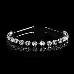 "Tiaras Wedding/Special Occasion/Party Rhinestone/Alloy 0.39""(Approx.1cm) 4.72""(Approx.12cm) Headpieces"