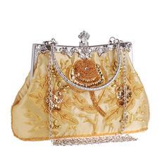 """Handtaschen Hochzeit/Zeremonie & Party Bestickt Elegant 8.67""""(Ungefähre 22cm) Clutches & Abendtaschen"""