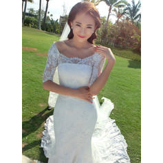 boat neck wedding dresses cheap