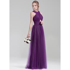 aline satin bridesmaid dresses