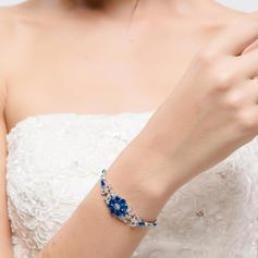 Bracelets Alloy/Zircon Ladies' Beautiful Wedding & Party Jewelry