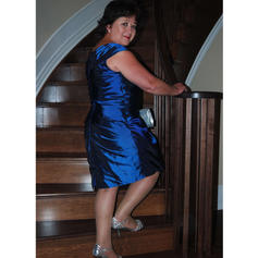 navy blue mother of the bride dresses tea length
