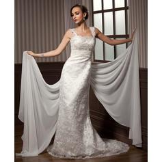 abiti da sposa sirena manica lunga