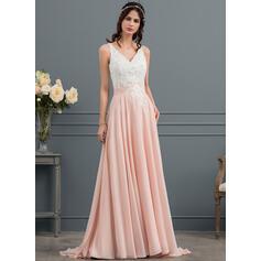 plus size vestidos de noiva flowy