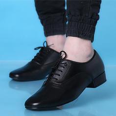 Män Latin Modern Äkta läder Dansskor