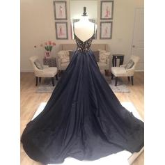 dark blue plus size prom dresses