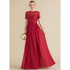Vestidos princesa/ Formato A Amada Longos Tecido de seda Vestido de festa