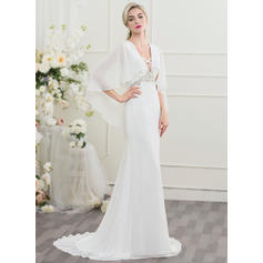 knee length winter wedding dresses