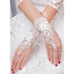 Tulle Ladies' Gloves Bridal Gloves Fingerless 20cm(Approx.7.87inch) Gloves