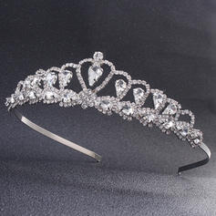 Tiaras Wedding/Special Occasion/Party Rhinestone Stylish Color & Style representation may vary by monitor/Not responsible for typographical or pictorial errors Headpieces