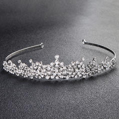 Tiaras Wedding/Party Rhinestone Gorgeous Ladies Headpieces