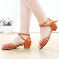 Donna Latino Similpelle con Listino alla caviglia Scarpe da ballo