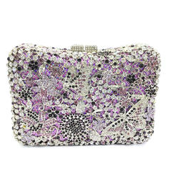 Clutches/Luxury Clutches Wedding/Ceremony & Party Crystal/ Rhinestone/Alloy Magnetic Closure Fashional Clutches & Evening Bags