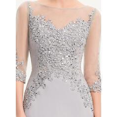 robes de soirée courtes et fluides