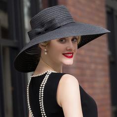 Raffia Straw Floppy Hat Fancy Ladies' Hats