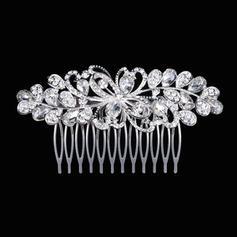 "Combs & Barrettes Wedding Rhinestone/Alloy 3.94""(Approx.10cm) 2.17""(Approx.5.5cm) Headpieces"