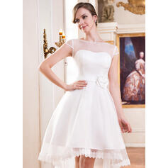 simple cream wedding dresses