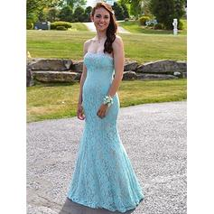Trumpet/Mermaid Sweetheart Floor-Length Evening Dresses With Beading
