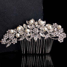 Combs & Barrettes Wedding/Outdoor/Party Crystal/Imitation Pearls Charming Ladies Headpieces