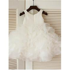tulle flower girl dresses with lace for wedding