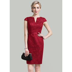 Stunning Sheath/Column V-neck General Plus With Cocktail Dresses