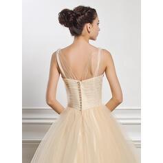 robes de mariée princesse avec de la dentelle