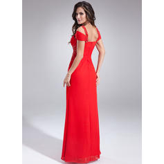 red strapless evening dresses
