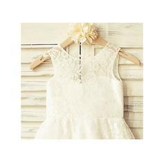 white flower girl dresses for wedding size 6