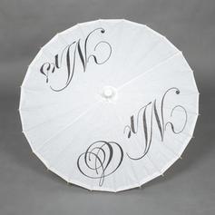 Bröllops Paraplyer Bridal Parasoller Kvinnor Wedding Rakt Handtag Bröllops Paraplyer