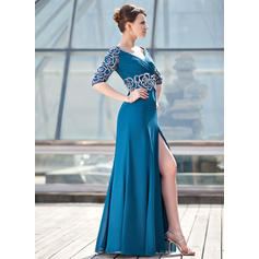 black mother of the bride dresses for women long