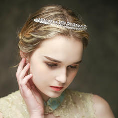 "Tiaras Wedding/Special Occasion/Casual Crystal/Alloy 7.87""(Approx.20cm) 0.63""(Approx.1.6cm) Headpieces"