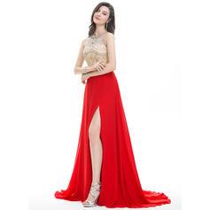 long prom dresses v