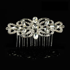"""Combs & Barrettes Wedding/Special Occasion Alloy 3.54""""(Approx.9cm) 1.97""""(Approx.5cm) Headpieces"""