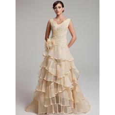 eleganti abiti da sposa madreperla