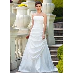 romantiska bröllopsklänningar med ärmar