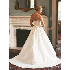 cheap a line wedding dresses uk