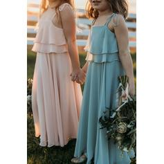 blush flower girl dresses
