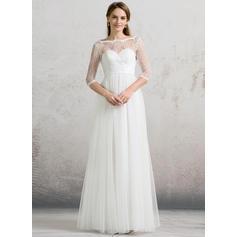 mãe dos vestidos de noiva na altura do joelho